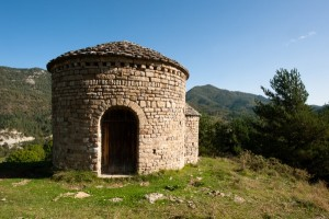 Rotonda de Sant Miquel during a trek through the Pyrenees | Bergueda
