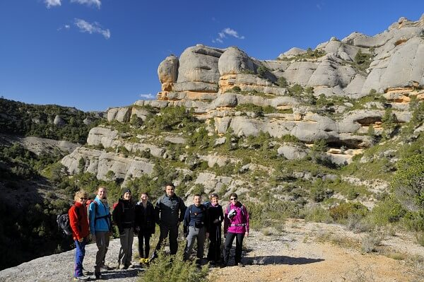 hiking in priorat montsant