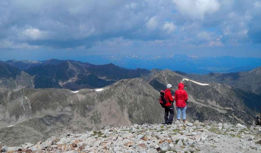 trekking ou randonnee pyrenees espagnoles