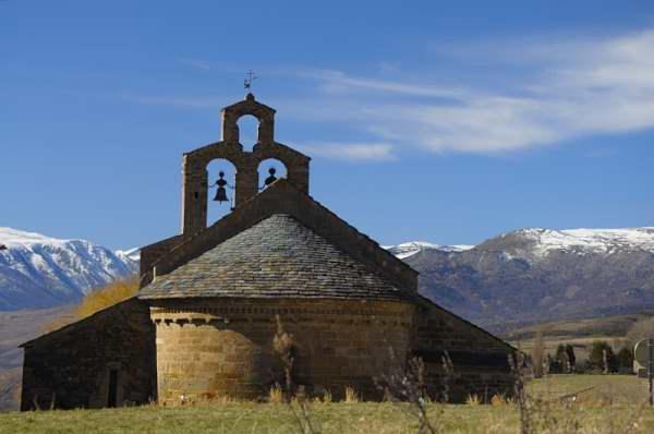 Romanesque chuch in Llo