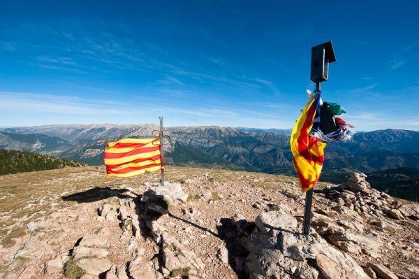 Views to Pedraforca   Cadi Spain